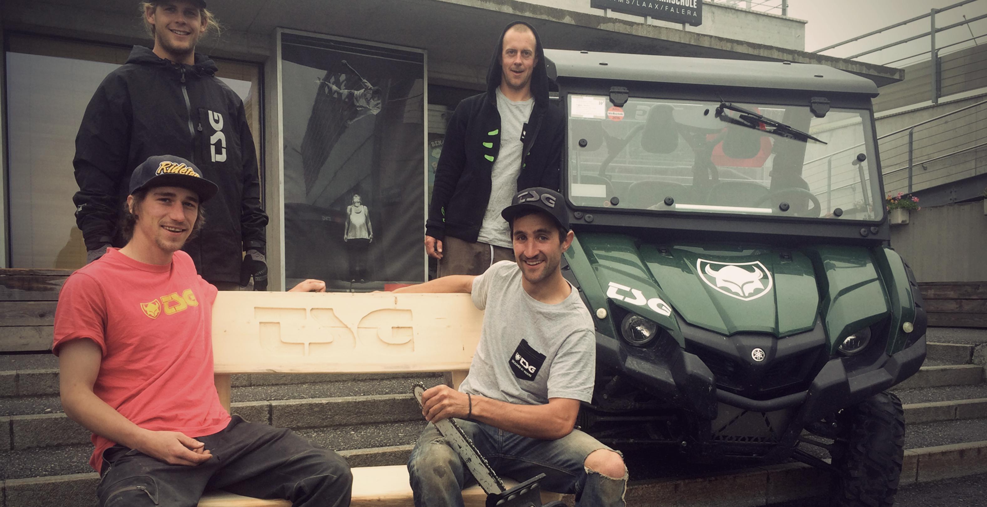 Biketrails Flims Laax Shape Crew