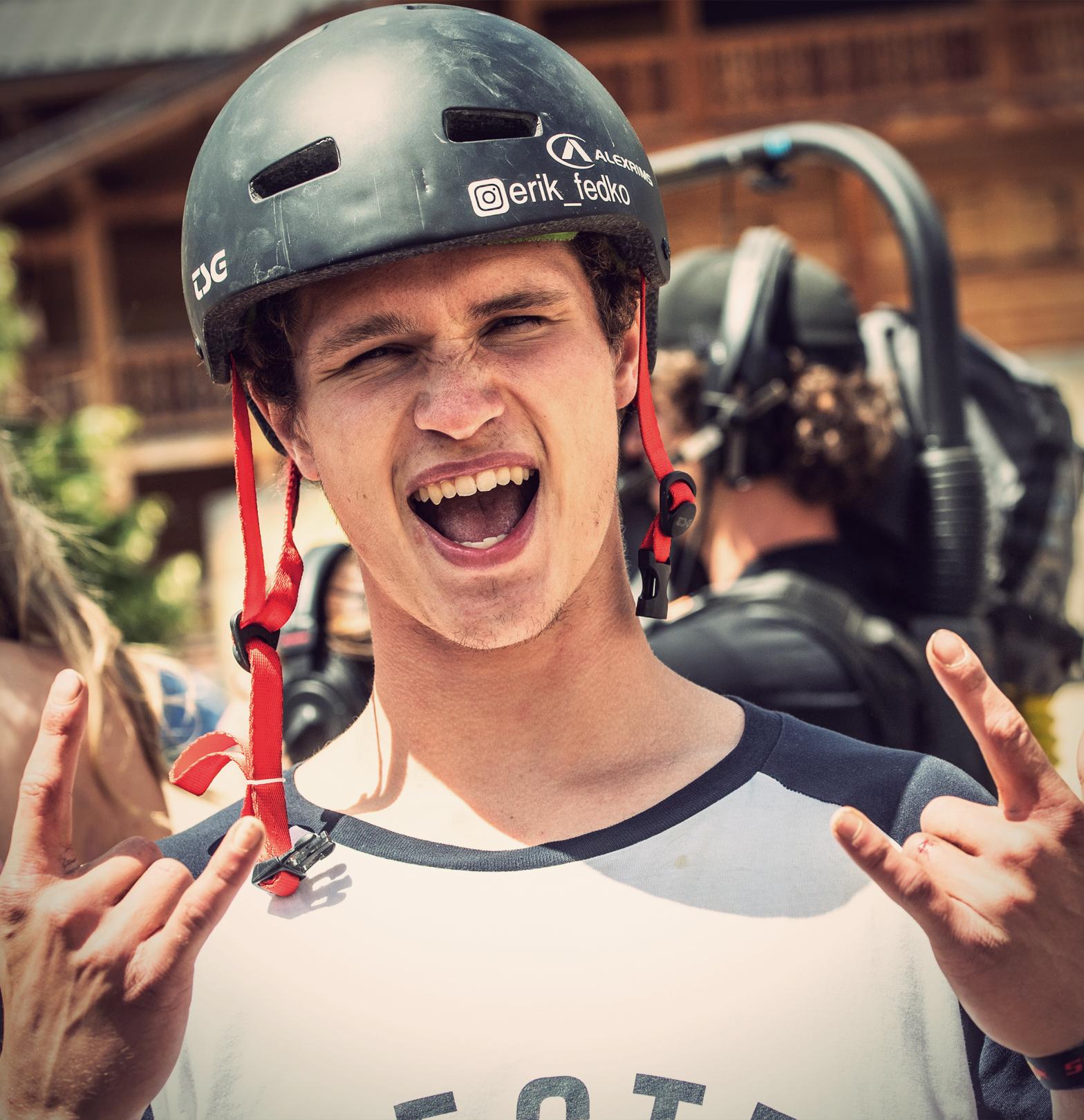 Erik Fedko Crankworx Les Gets 2018 Slopestyle