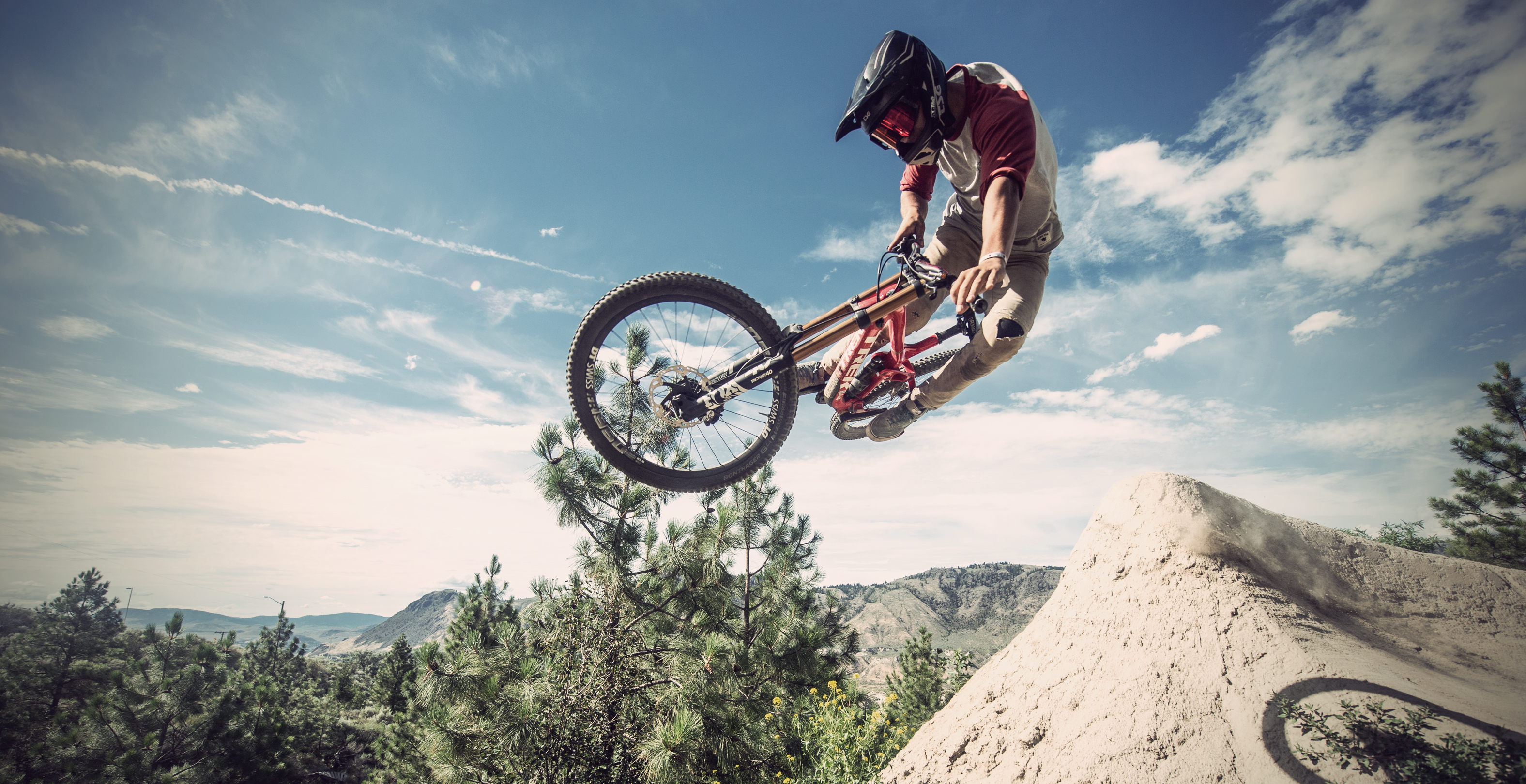 Lucas Huppert mountain bike TSG team rider