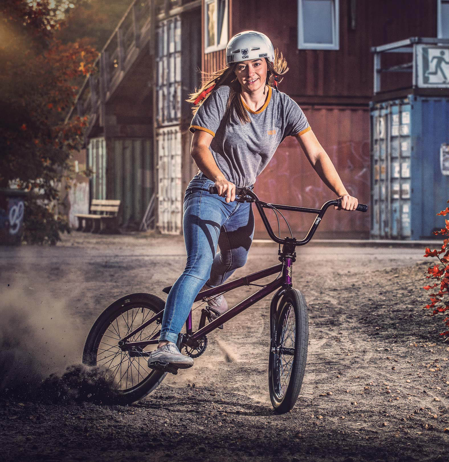 Lara Lessmann BMX TSG team rider