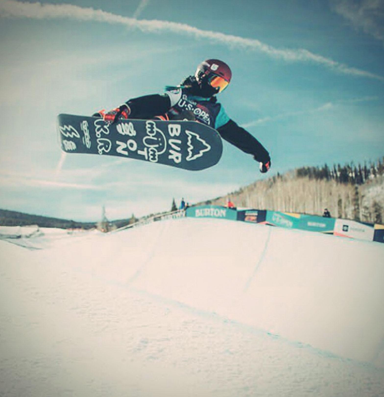 TSG Kids Kona Ettel Burton US Open Junior Jam 2019 Snowboard Girl Halfpipe
