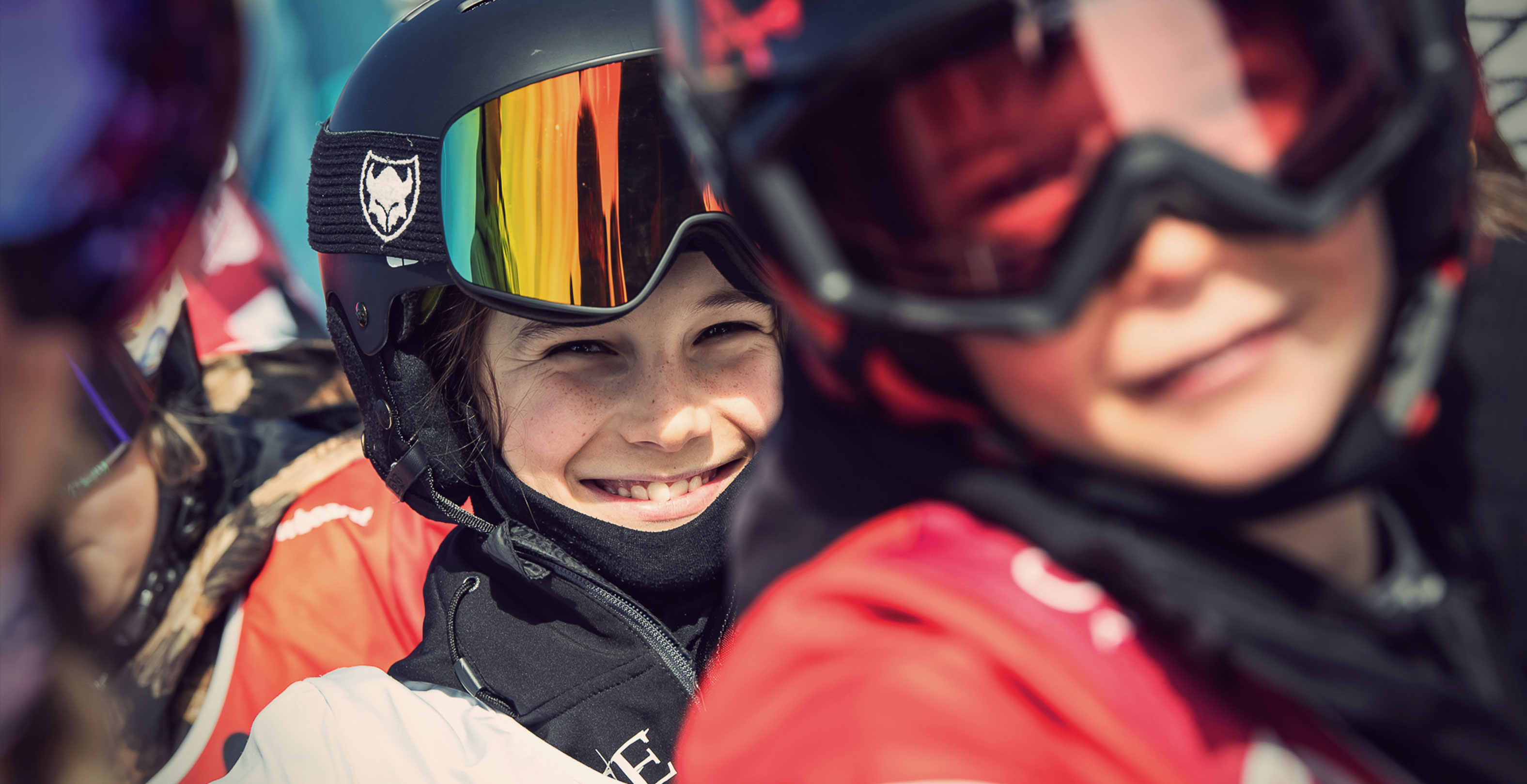 TSG kids, Mischa Zuercher, Expect Goggle, smiling kid