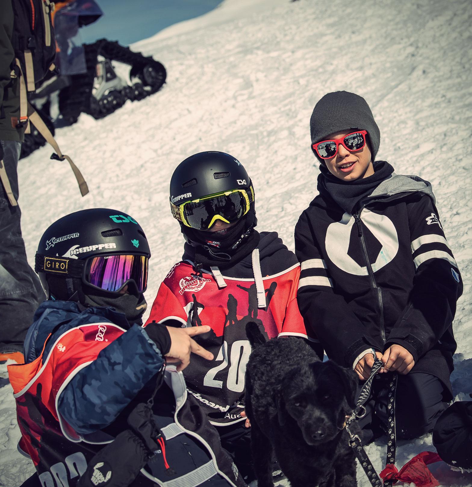 TSG Kids Kids Laax Open 2019 snowpark laax Iceripper Team