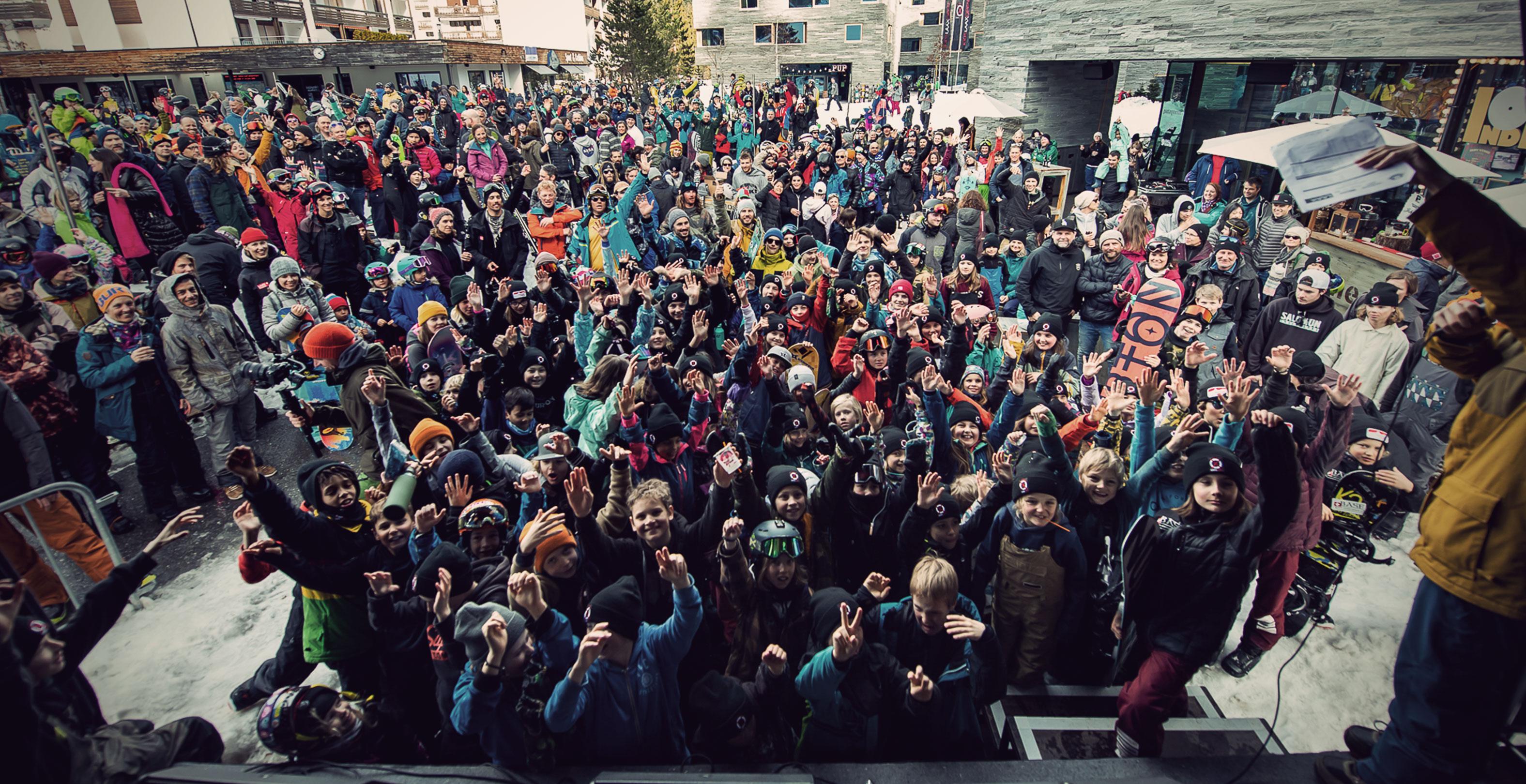 TSG Kids Kids Laax Open 2019 snowpark laax