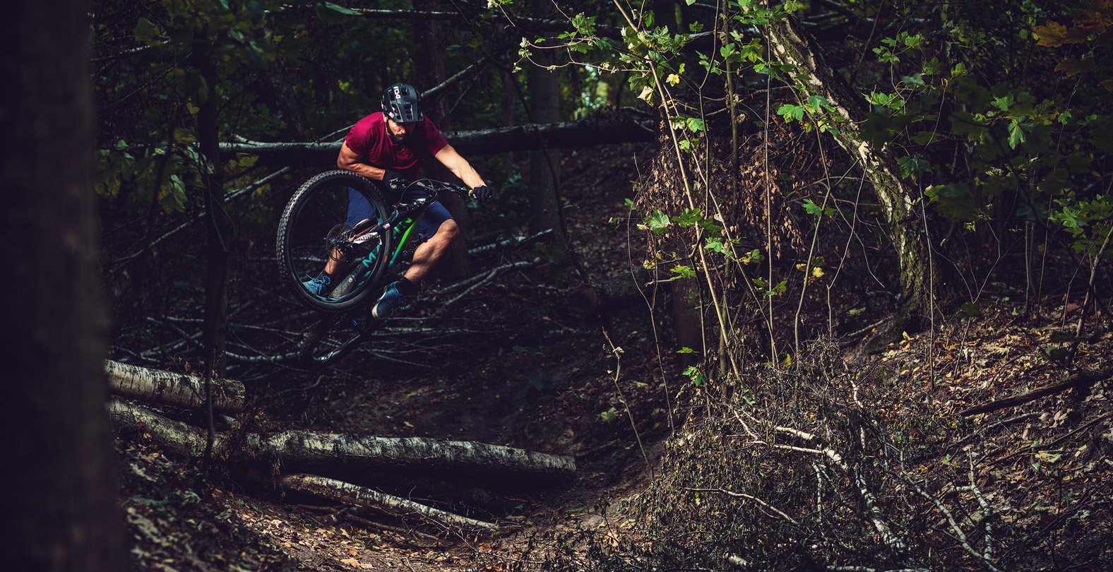 What mountain biking really is about. Timo Pritzel enjoys the nature