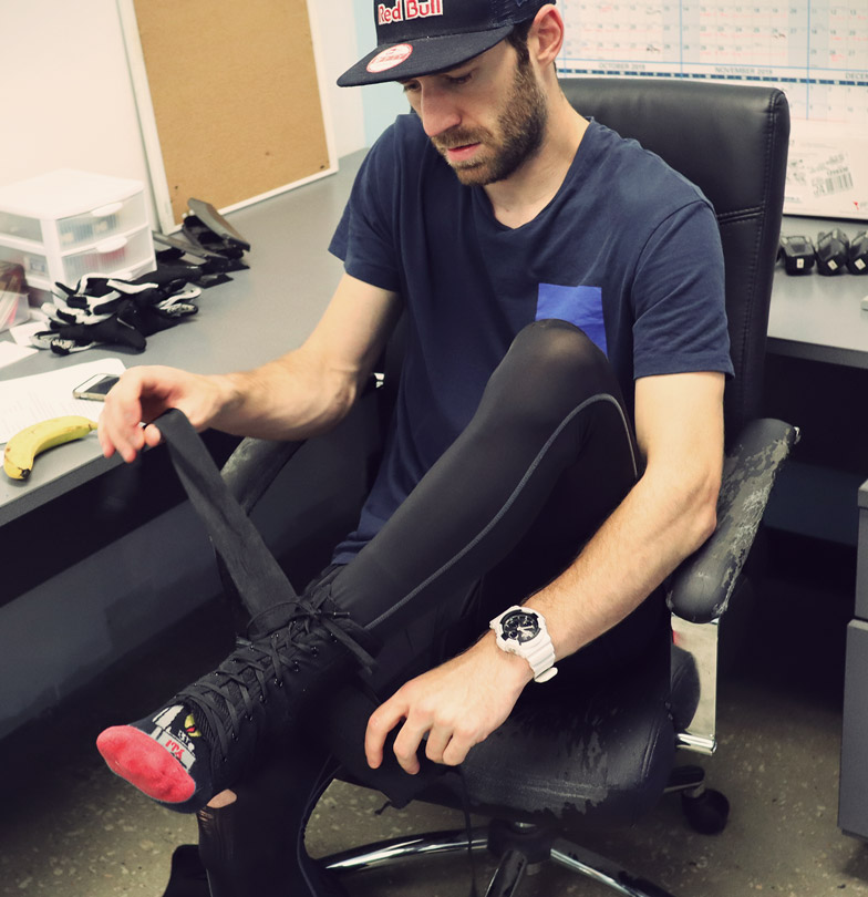 TSG Must-Have BMX product Ankle Support  Daniel Wedemeijer