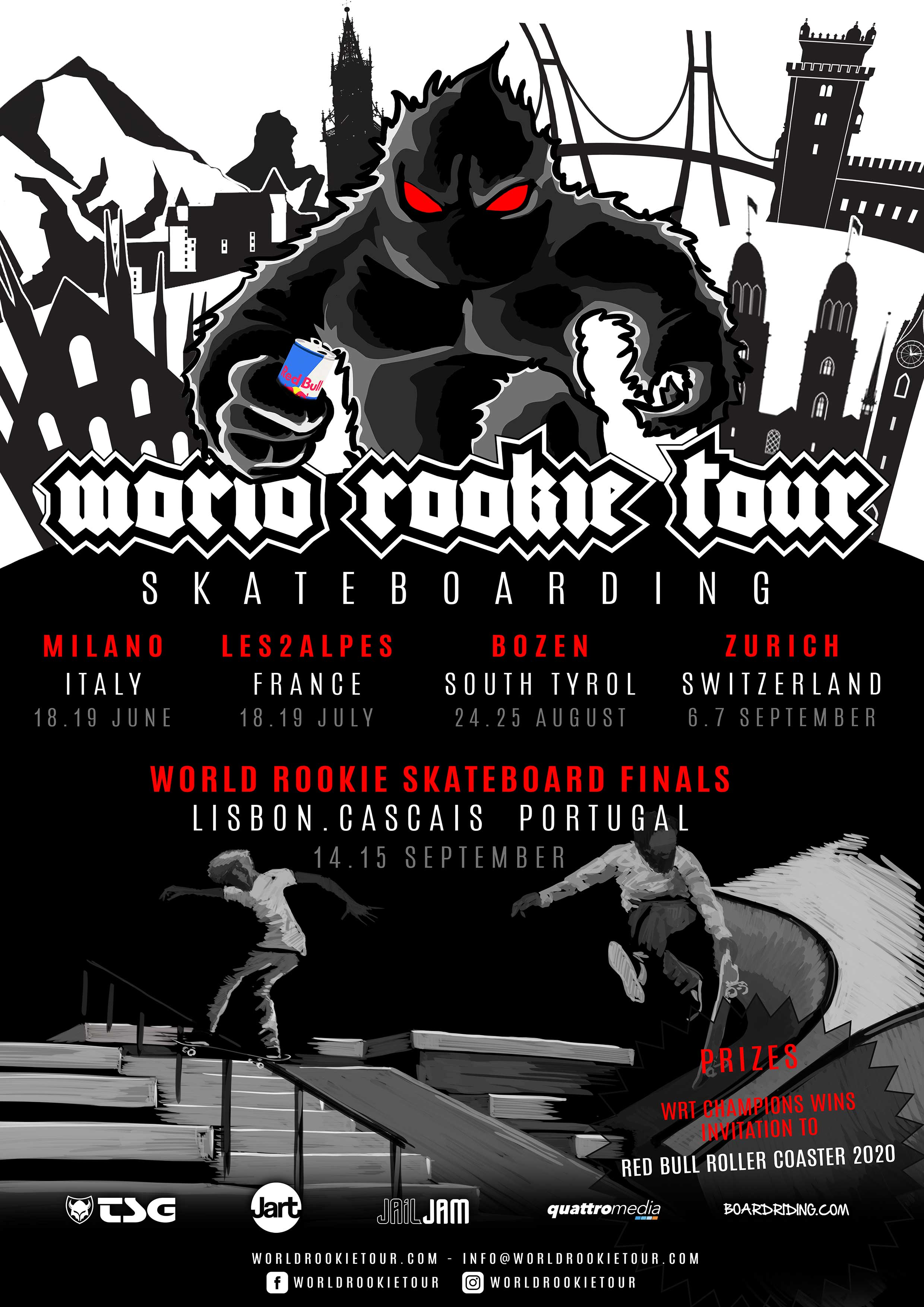 World Rookie Tour Skateboarding