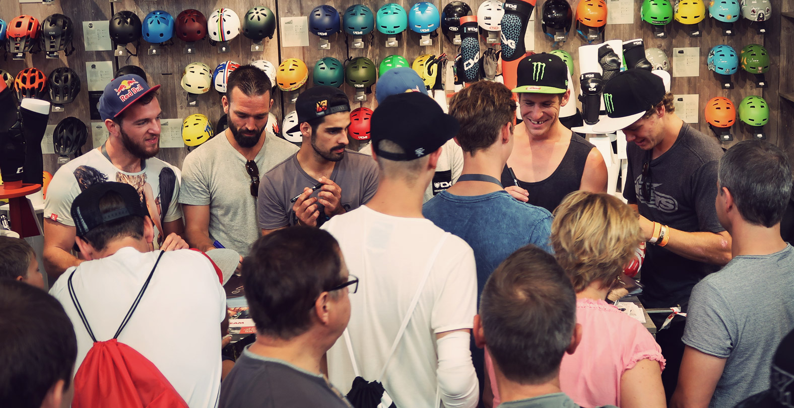 TSG Bike Team Meet & Greet Signing Session at Eurobike 2019