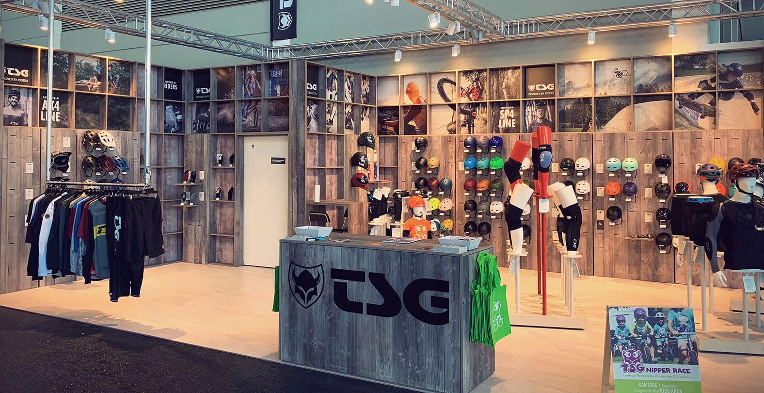 Eurobike 2019 TSG Booth