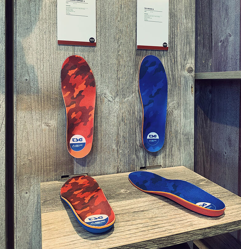 Eurobike 2019 TSG Booth Insoles