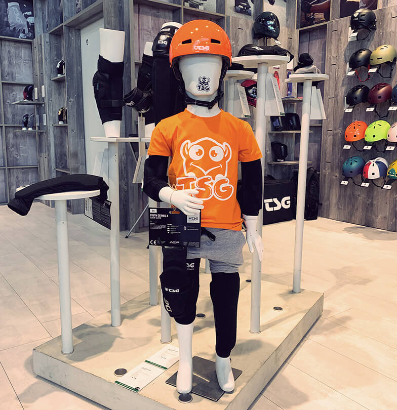 Eurobike 2019 TSG Booth Kids Bike Protection