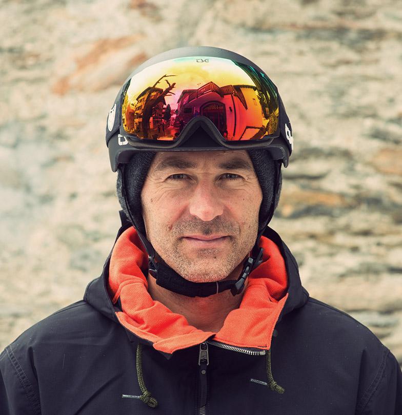 Gian Simmen Portrait