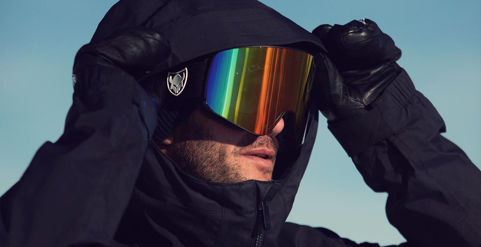 Markus Keller Portrait Snowboard Goggle