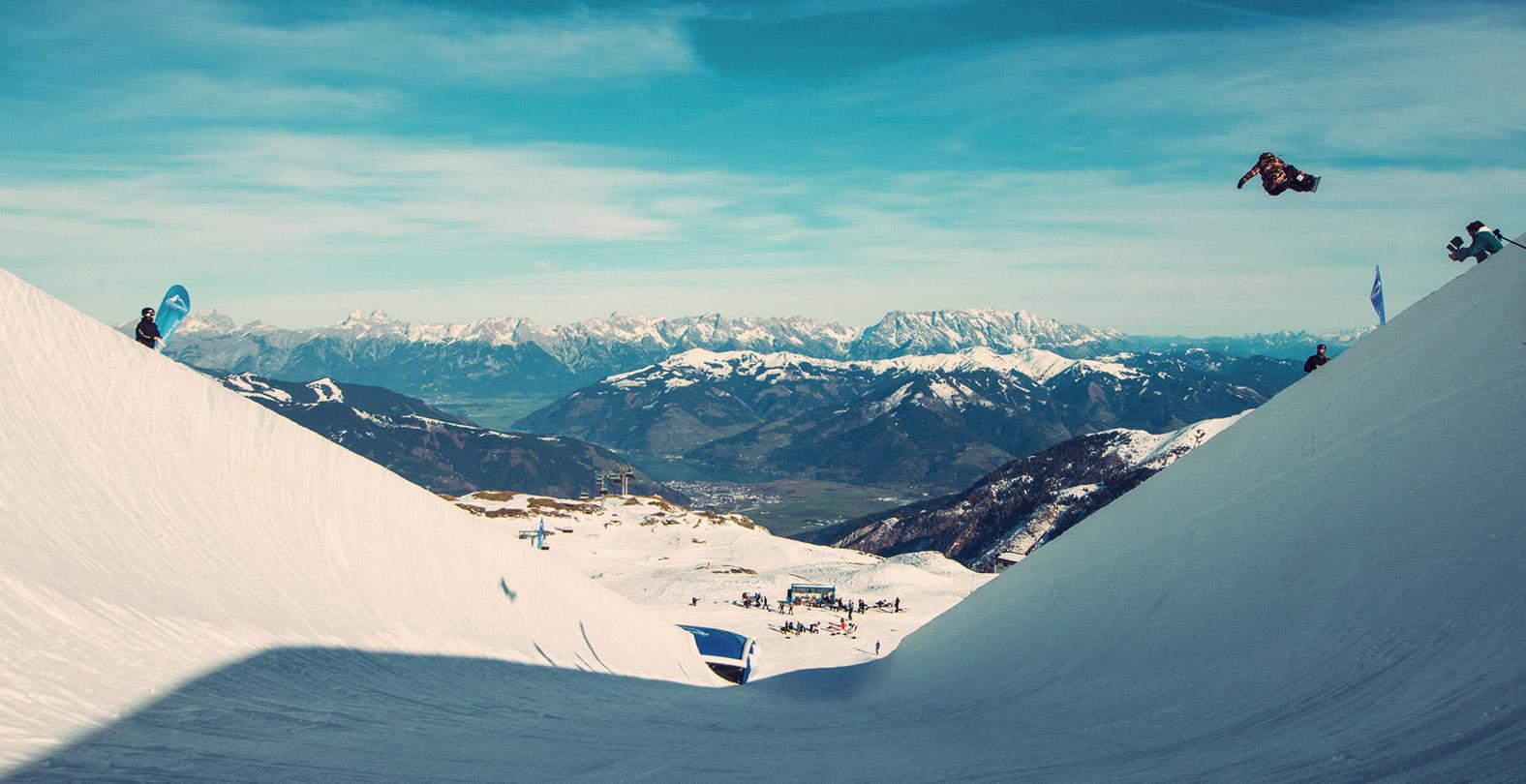 Leilani Ettel Kitzsteinhorn halfpipe snowboard 2019