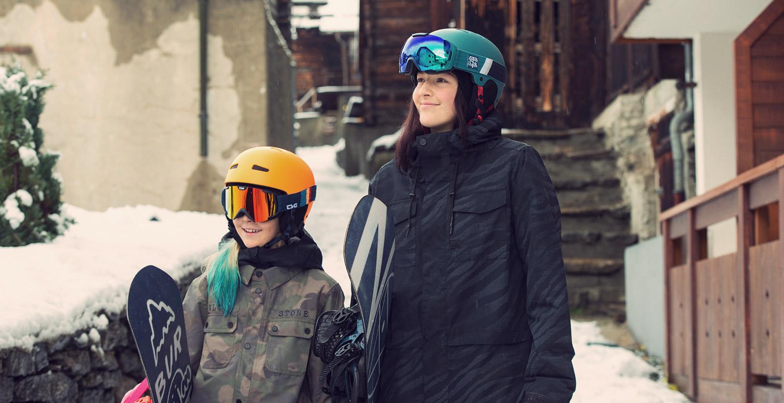 Leilani Ettel and Kona Ettel in Saas Fee photoshooting for TSG