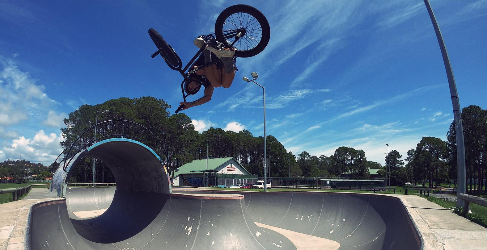 Jason Watts bmx australia pool