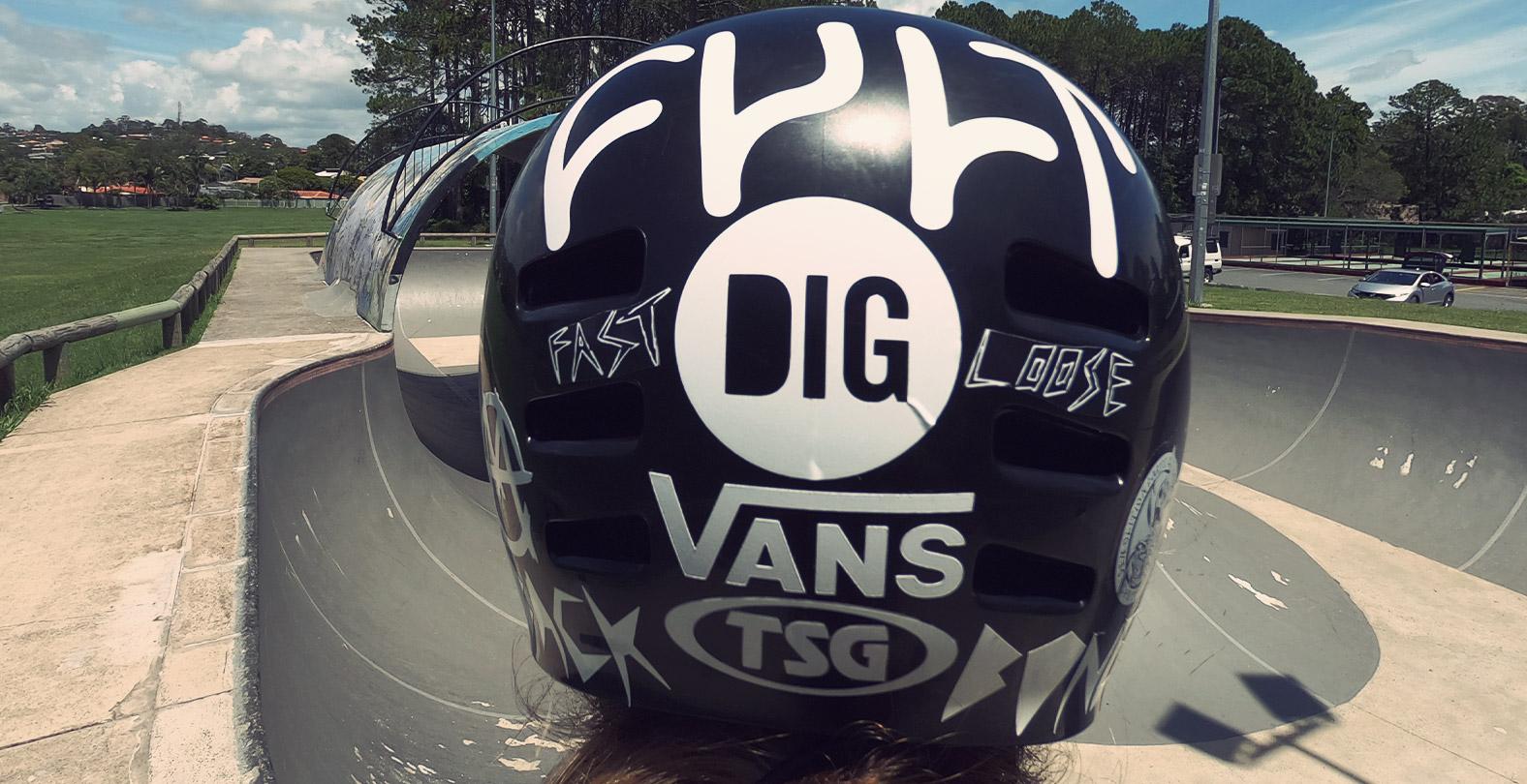 TSG Dawn Flex Helmet Jason Watts