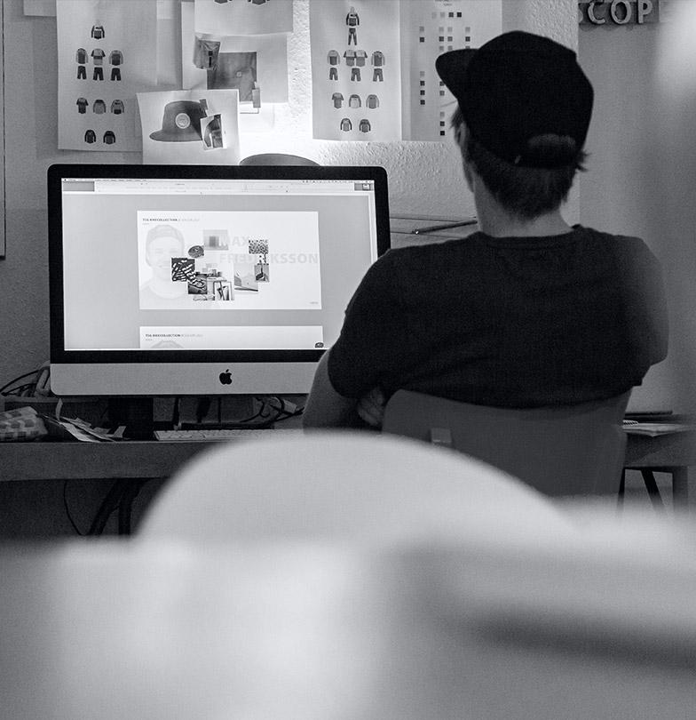 TSG apparel designer Jonas Janssen