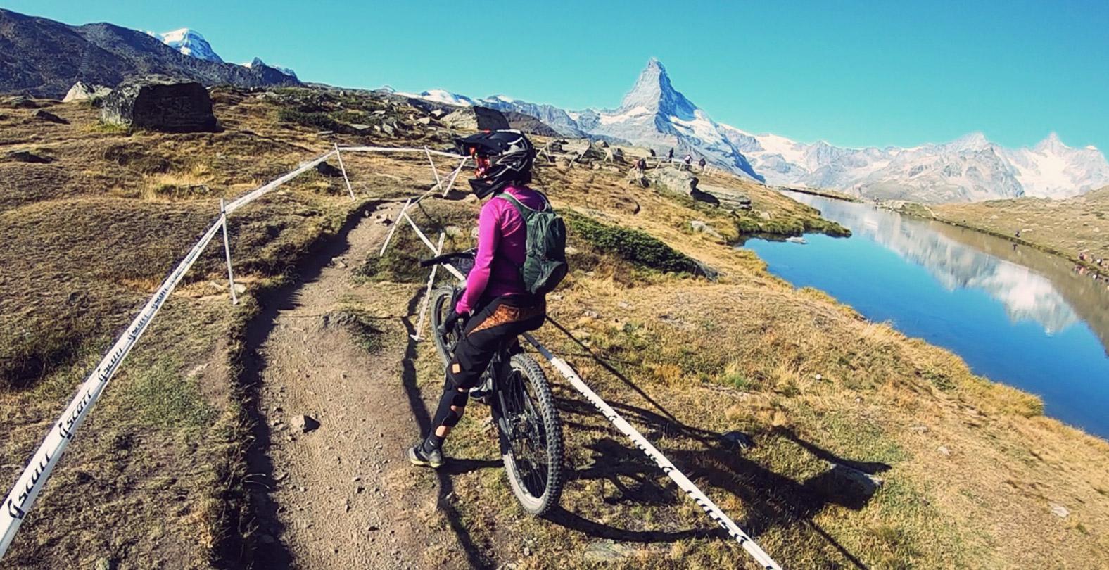 Mary McConneloug mountain biker