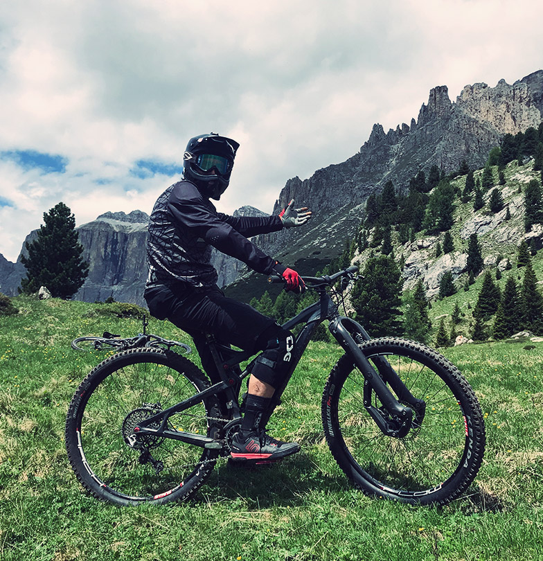 Mike Broderick mountain biker