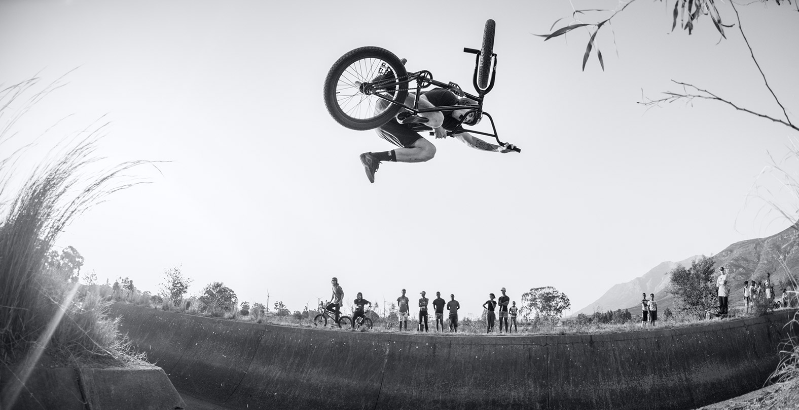Jason Watts riding BMX in South Africa