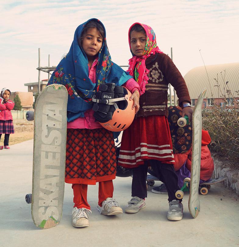 skateistan skateboarding girl