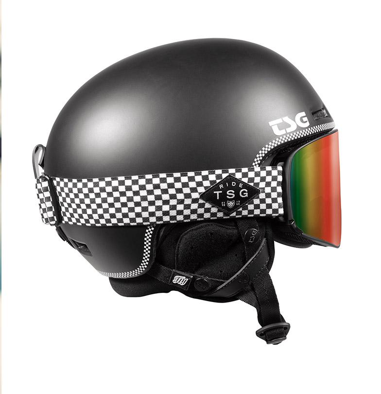 TSG Fly Helmet and Goggle Four