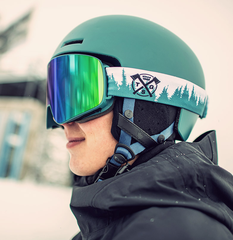TSG Gravity Helmet and Goggle Four