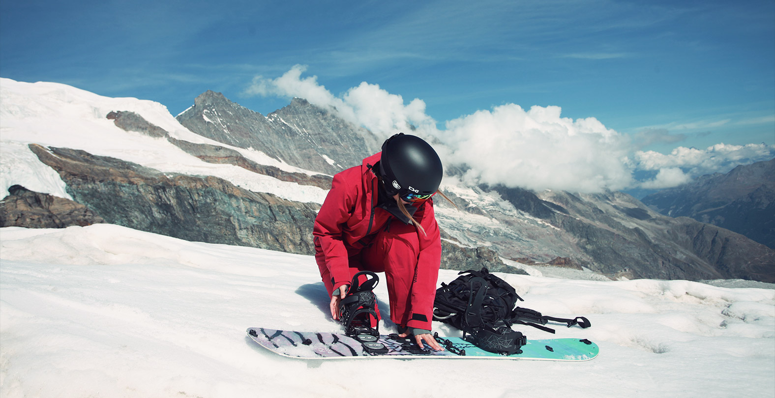 Preparing your splitboard to ride down