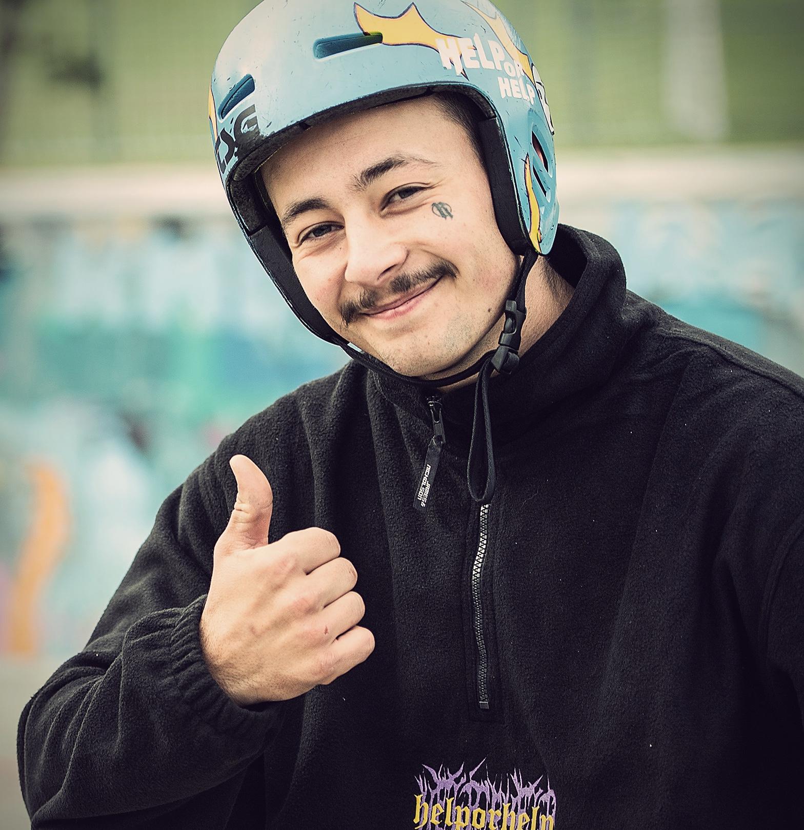 Alessio Tonoli TSG BMX rider