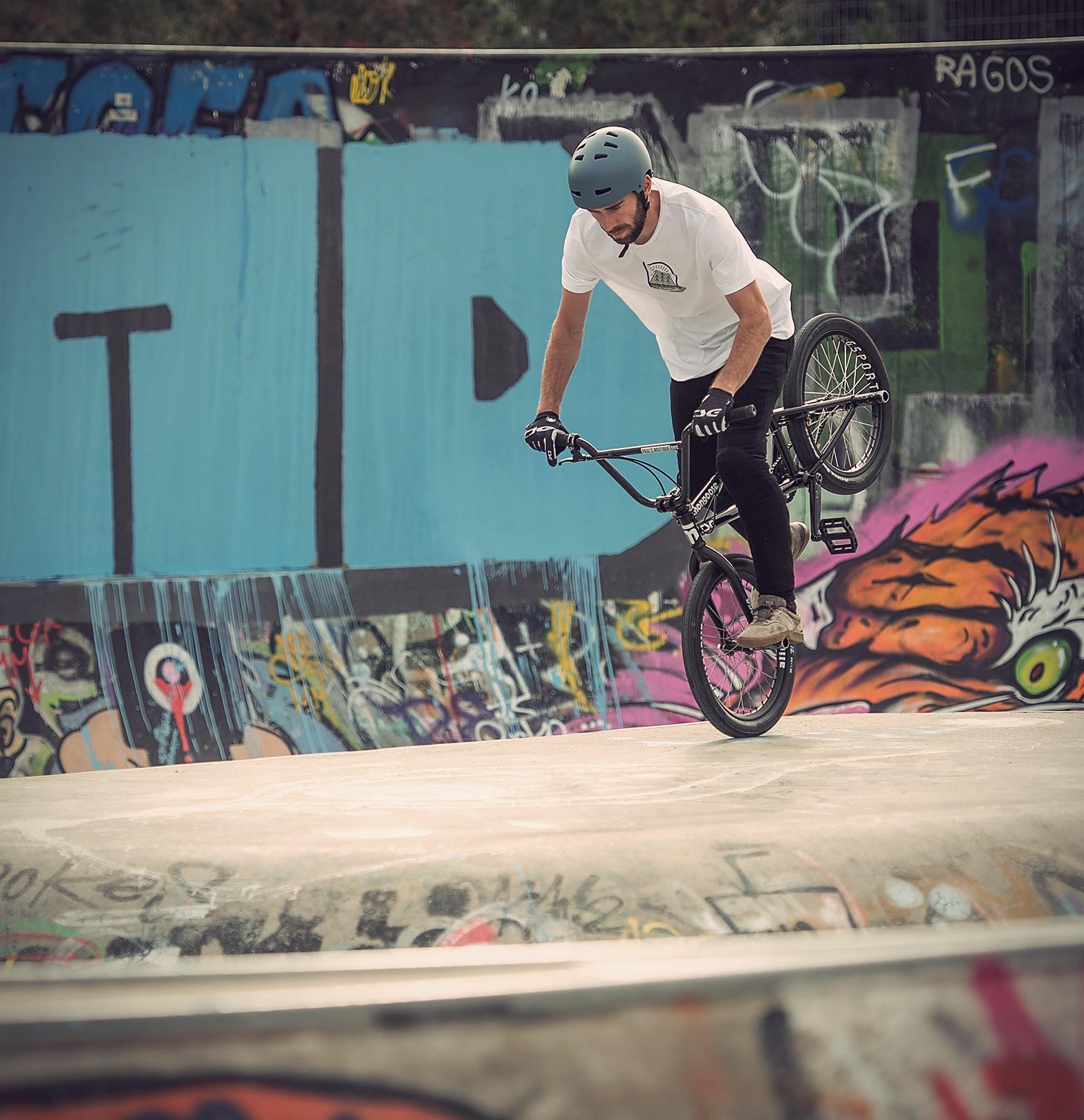 Zurich skatepark bmx Daniel Wedemeijer TSG