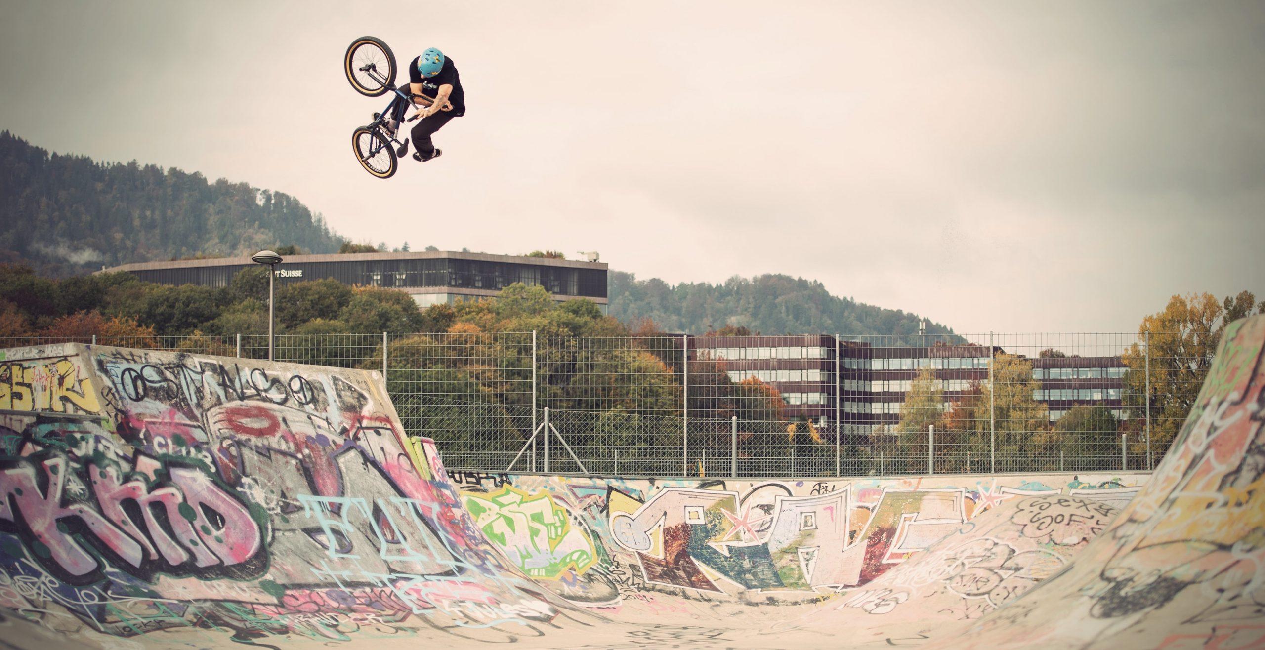 Alessio Tonoli BMX Skatepark Zurich