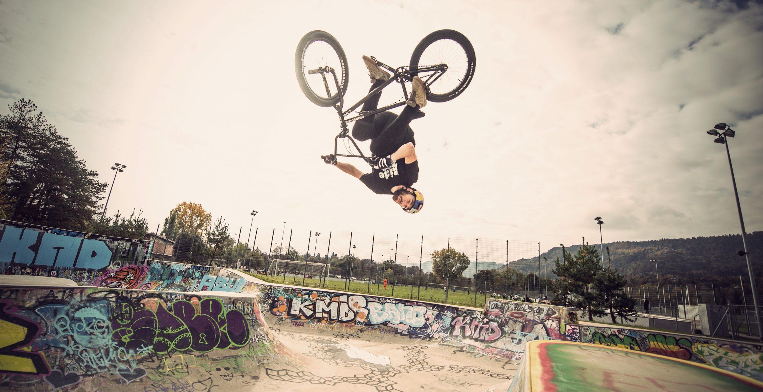 Flair by Daniel Wedemeijer in Skatepark Zurich