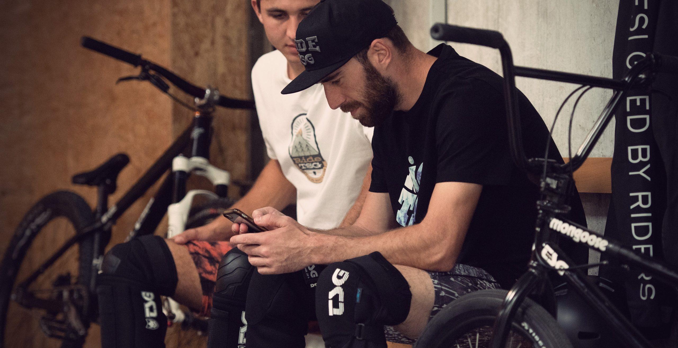 Daniel Wedemeijer and Lucas Huppert TSG team