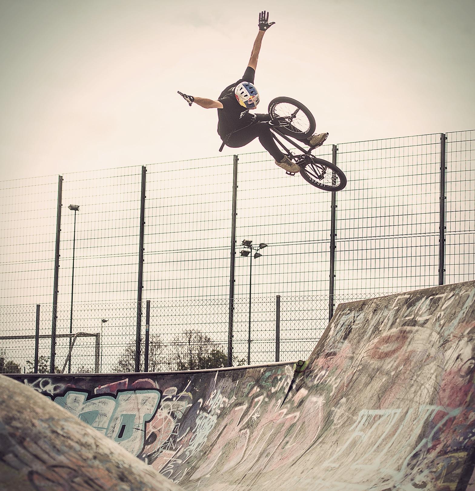 Skatepark Zurich bmx Daniel Wedemeijer
