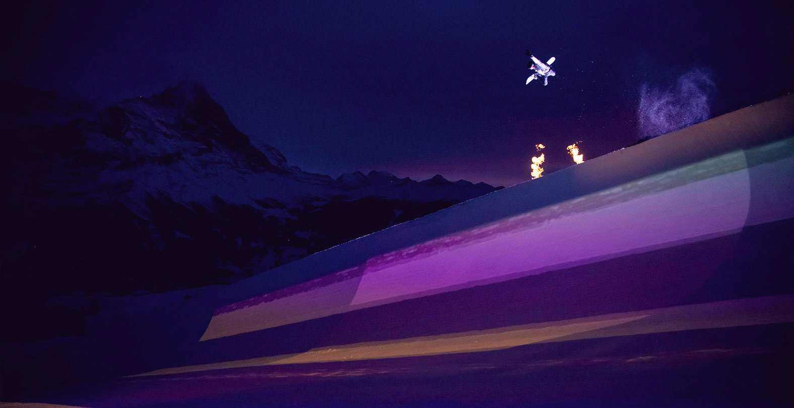 light up the halfpipe Gian Simmen