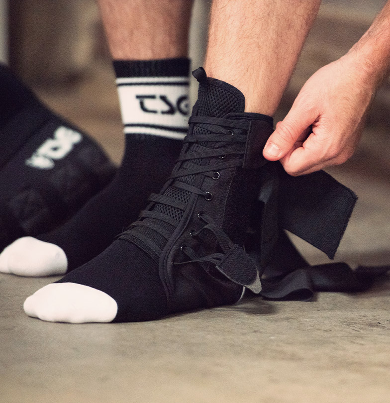 TSG ankle support 2.0 protection for mountain biking and bmx