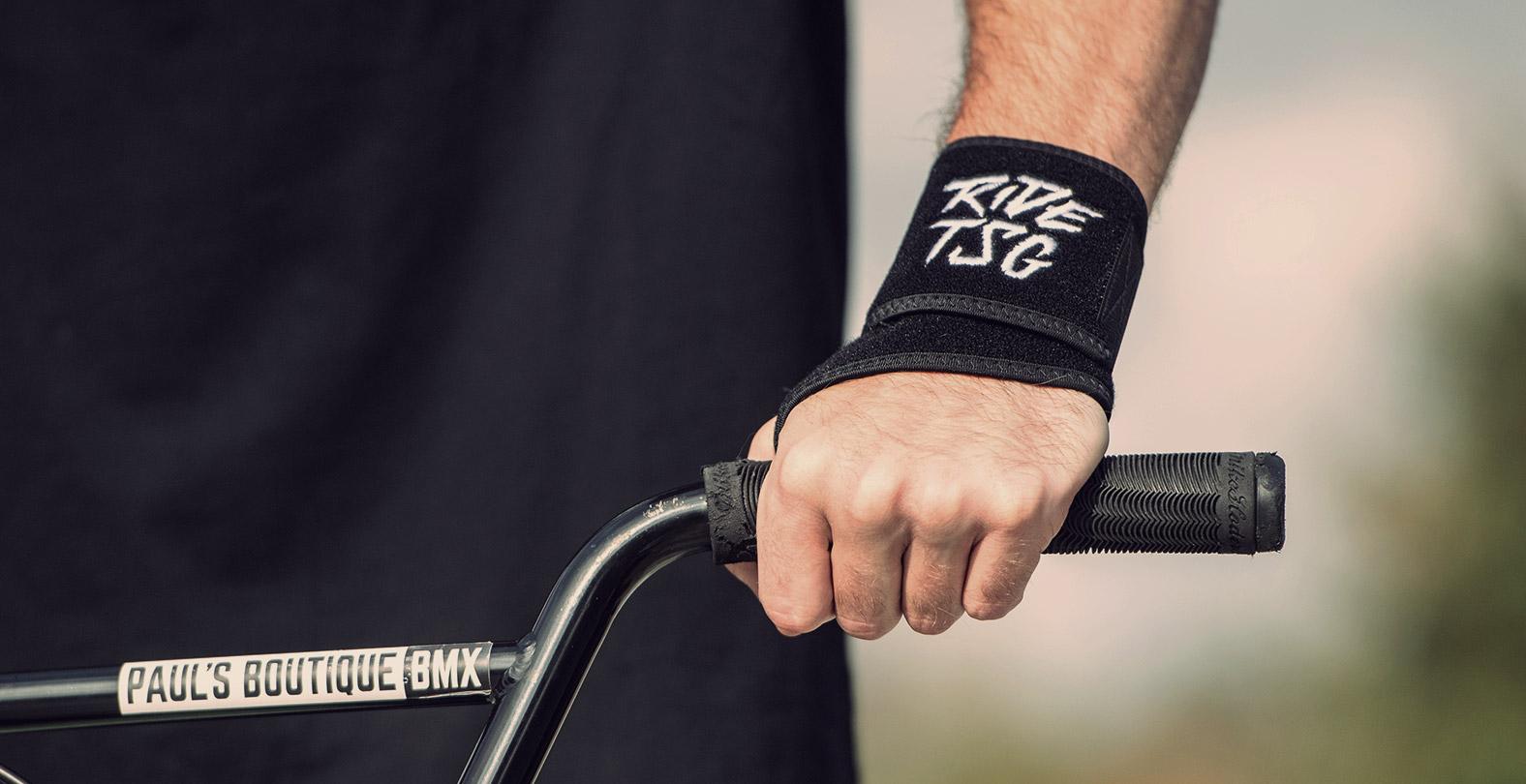 TSG wrist brace bike protection