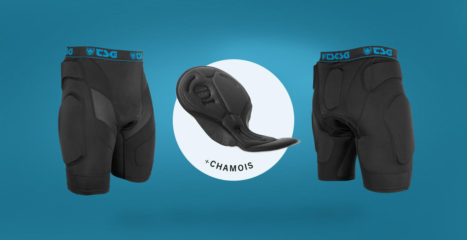 MTB Crash Pant A bike protection with Chamois