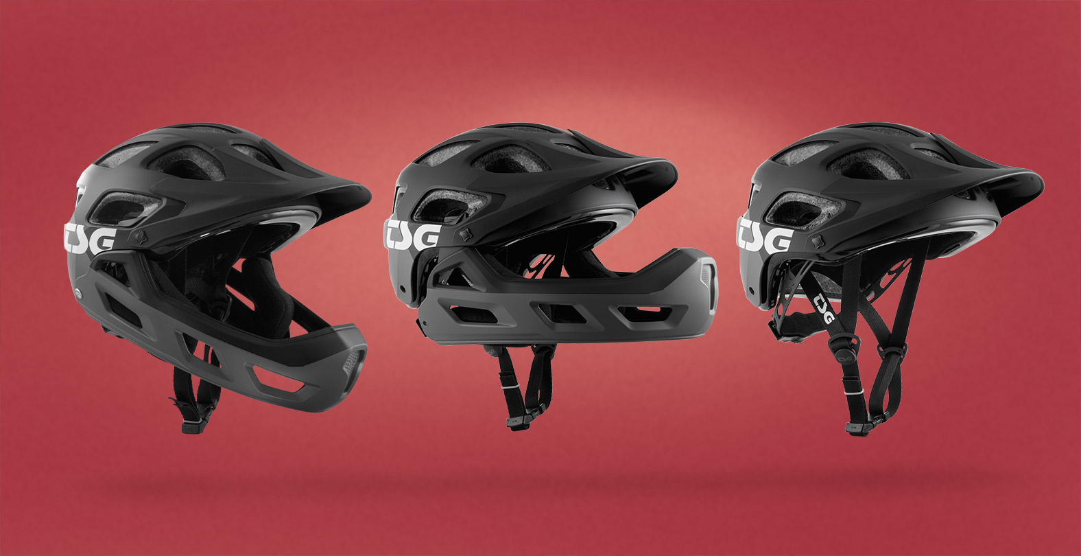 Seek FR Mountain Bike Helmet with removable chin part