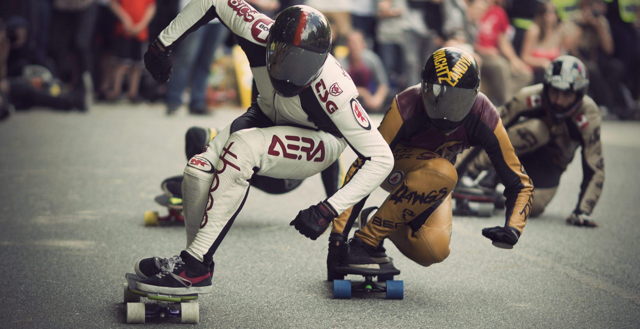 Kevin Reimer downhill skateboarding