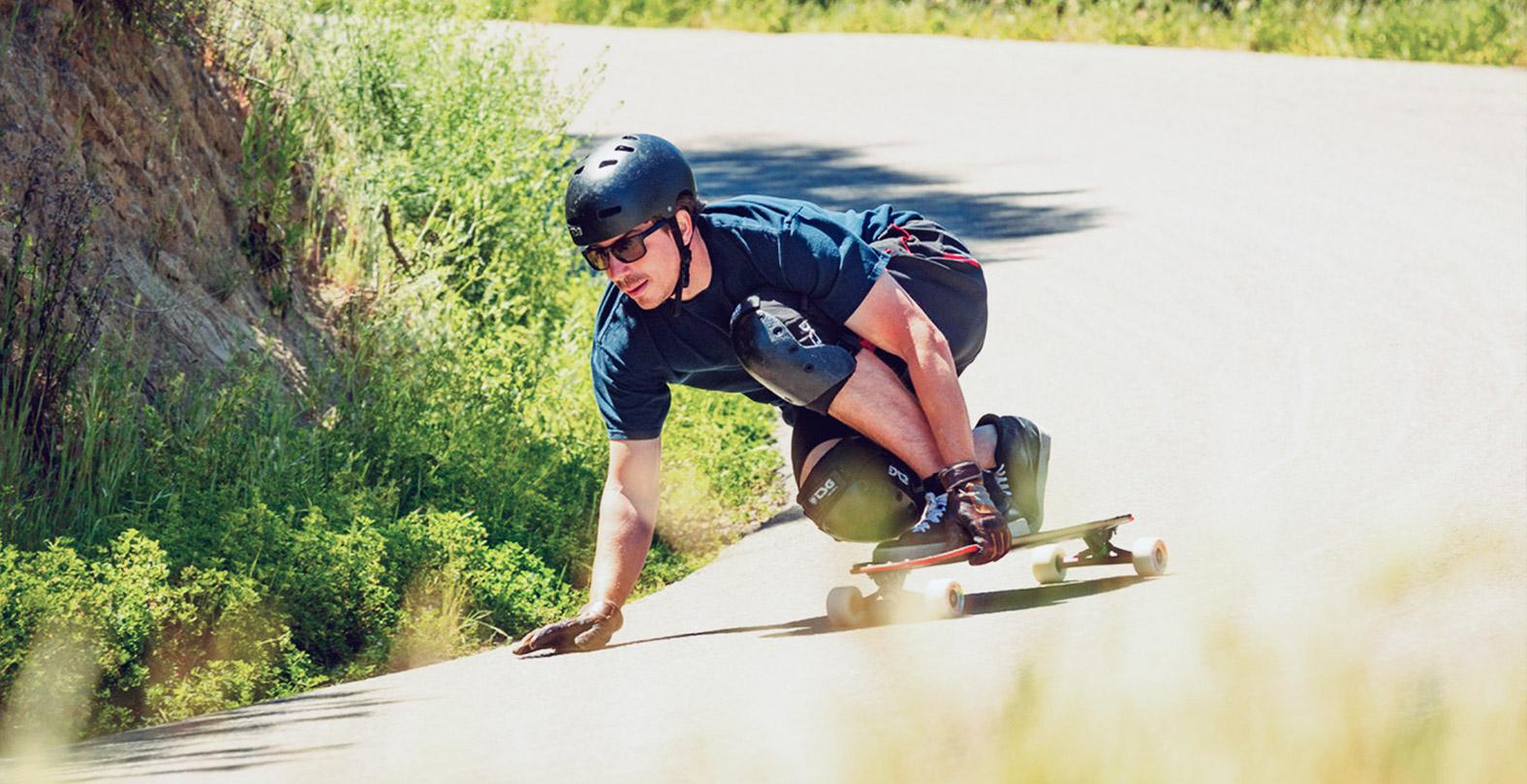 Kevin Reimer downhill skateboarder