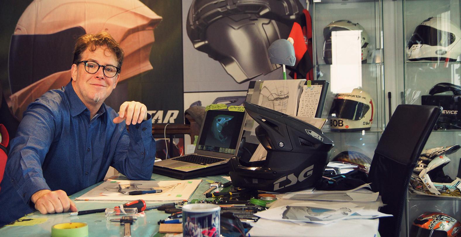 Stephane Dion Helmet Designer